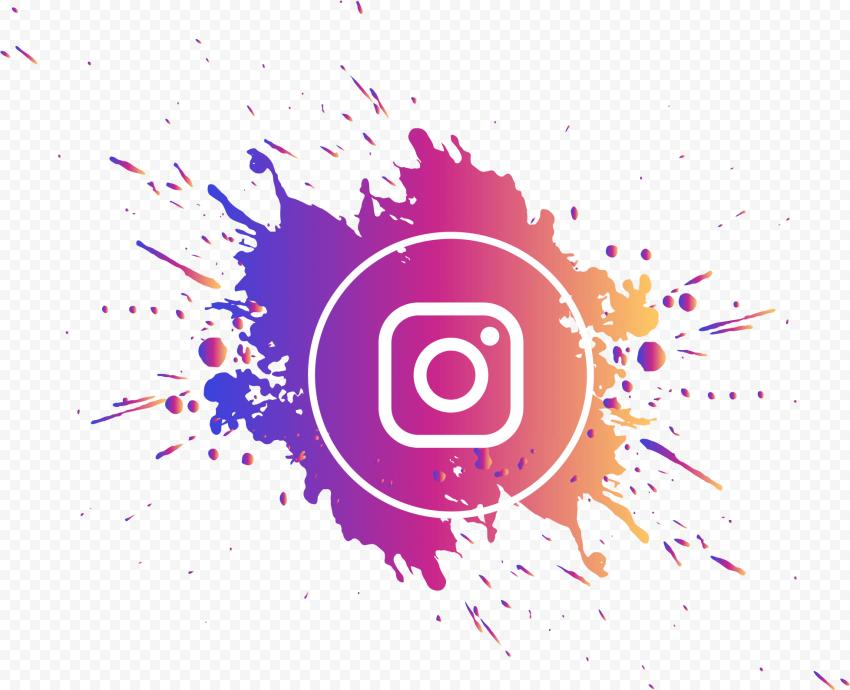 Splash Instagram Logo Circle Gradient Colors Citypng Instagram Logo Circle Logos Gradient Color