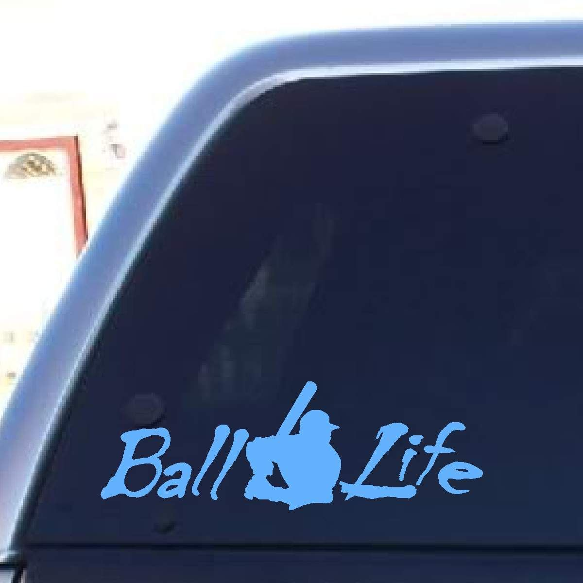 Ball Life Decal Vinyl Decal Projects Baseball Car Decals Baseball Decals [ jpg ]