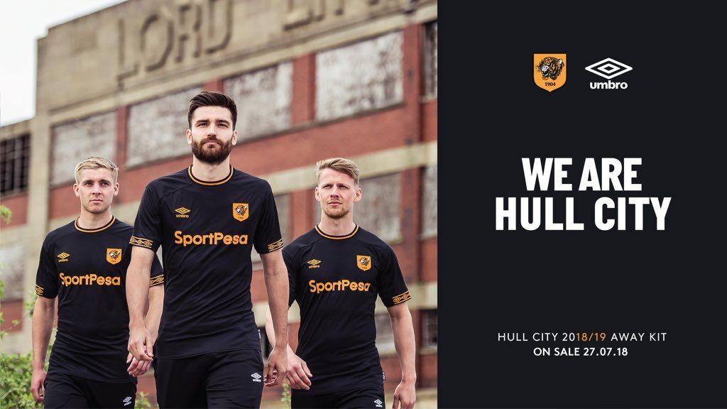 Hull City 2018 2019 Away Kit Hull City Hull Football Kits