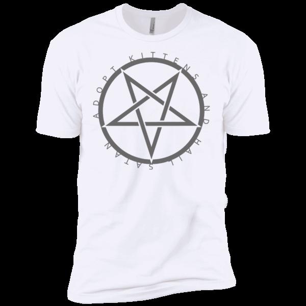 bf7b0c115 Adopt Kittens Hail Satan, Sarcastic Offensive Tee Shirts – T-Shirt ...