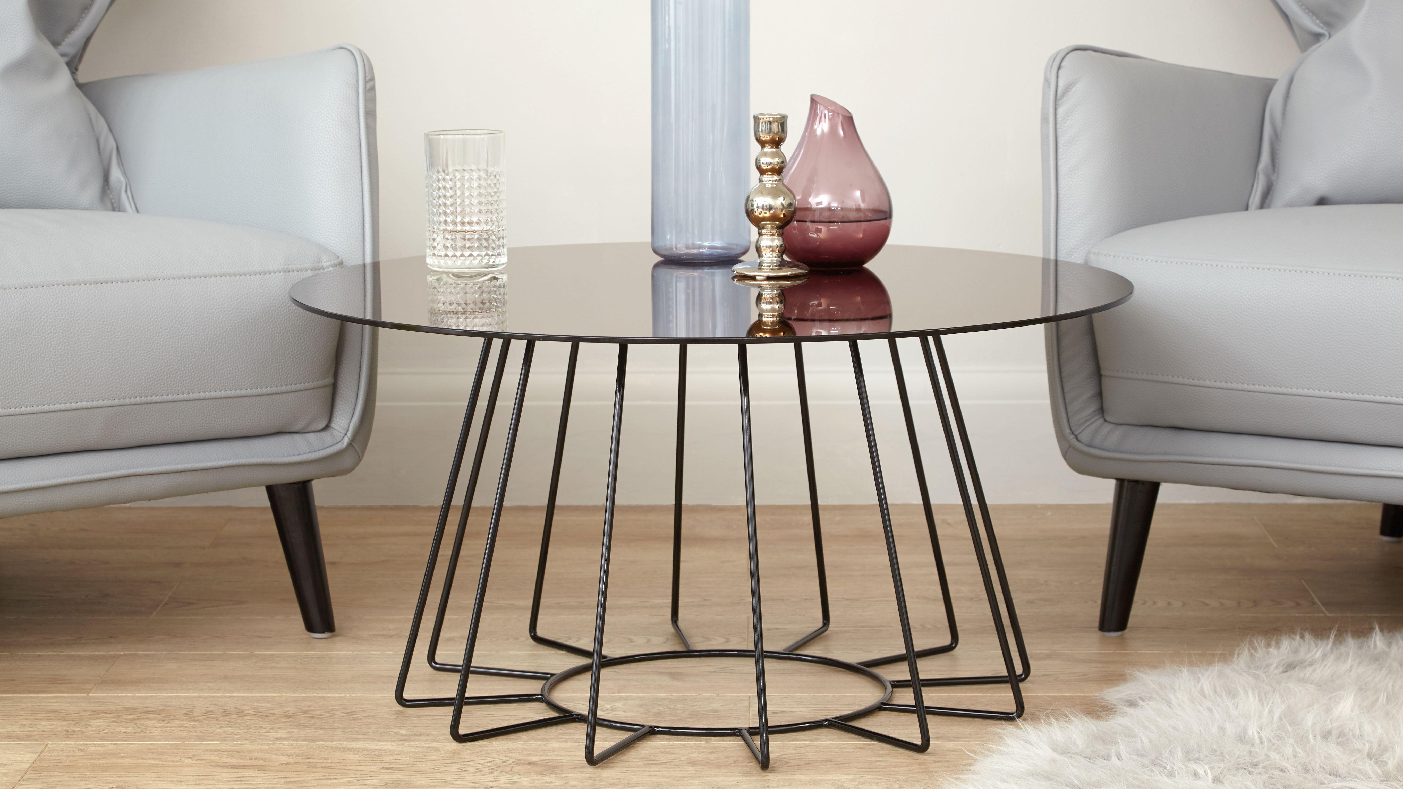 Orbit Bronze Glass Coffee Table Glass Coffee Table Coffee Table Coffee Table With Stools [ 3064 x 5447 Pixel ]