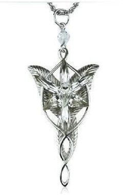 MANGO-El Señor de los Anillos-Arwen - Colgante Estrella de la Tarde:  Amazon.es: Joyería
