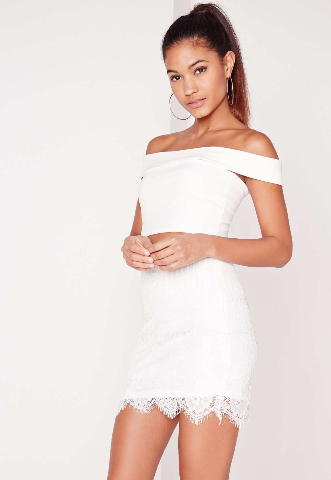 Watch - How to white wear lace mini skirt video
