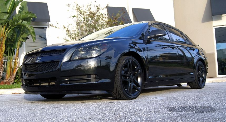 Blacked Out Chevy Malibu So Sick