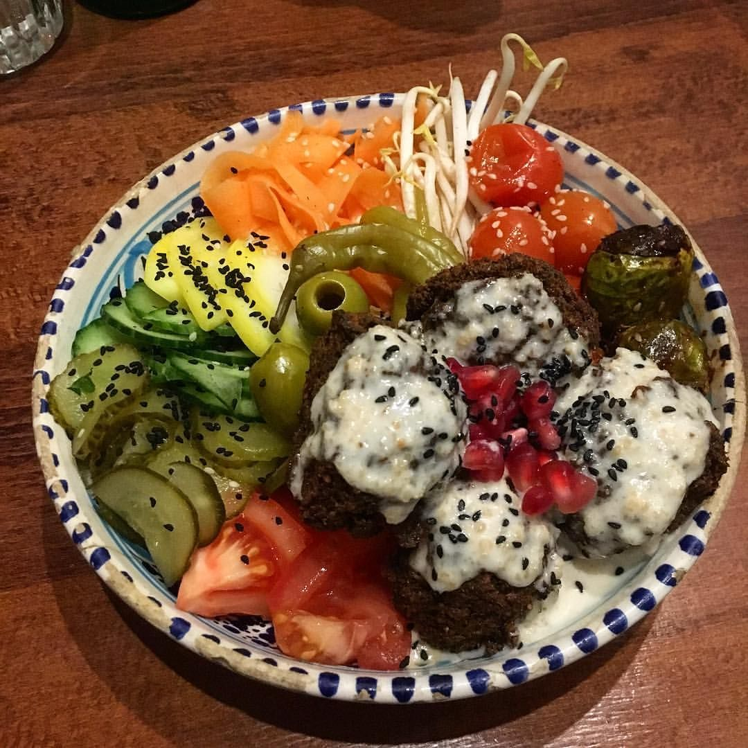 Another Amazing Vegan Restaurant In Poznan I Love Buddha Bowls Especially When They Look And Taste So Delicious As This Tasting Beautiful Food Delicious