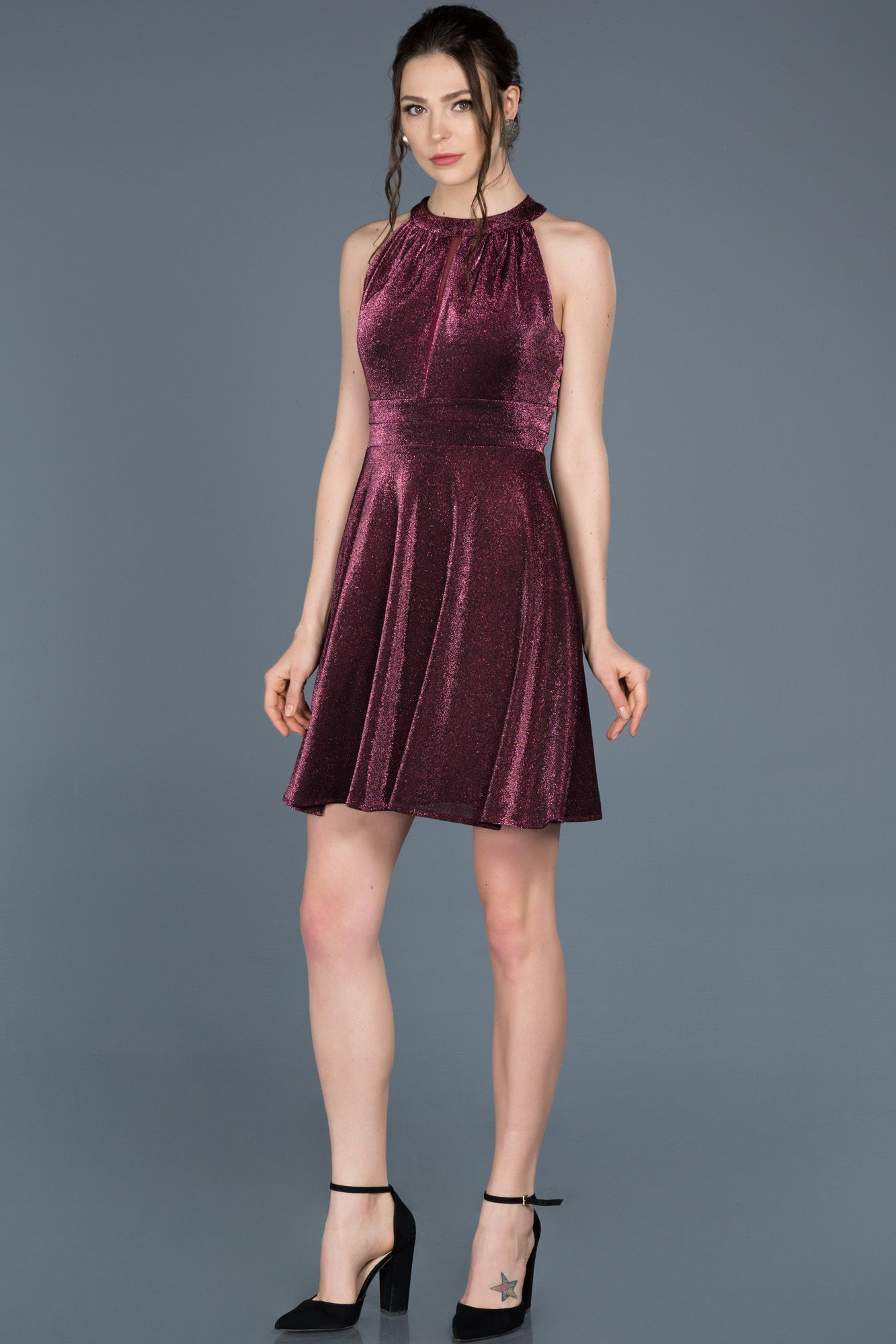 Murdum Kolsuz Mezuniyet Elbisesi Abk422 2020 Elbise Elbise Modelleri Mini Elbise