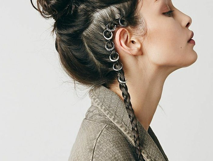 1001 tutos et photos inspirants pour une coiffure viking i like this pinterest hair hair. Black Bedroom Furniture Sets. Home Design Ideas