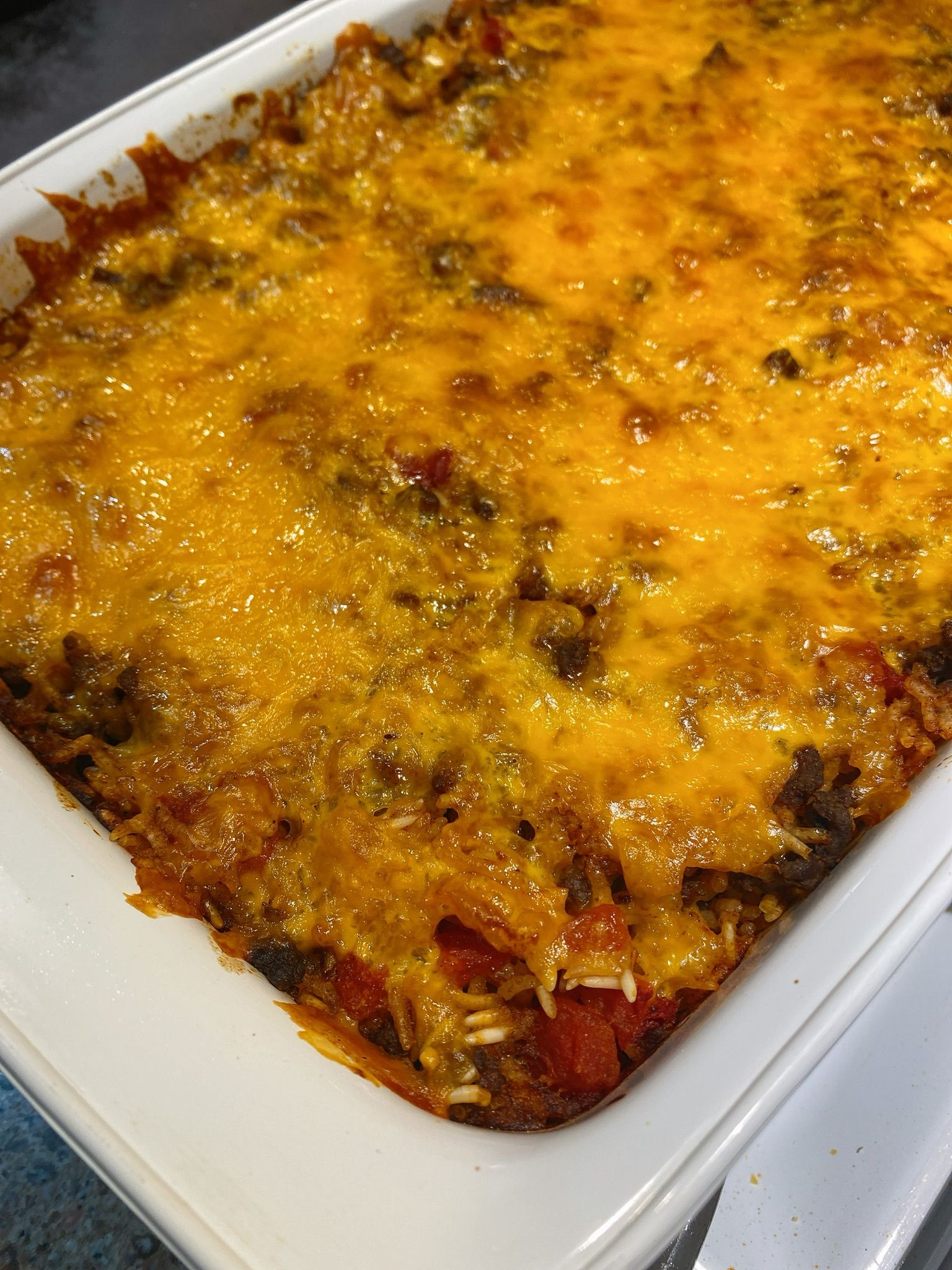 Ground Beef Taco Bake Recipe In 2020 Ground Beef Tacos Recipes Ground Beef
