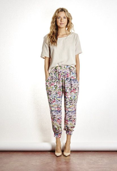 The ODELLS: Slouch Pant