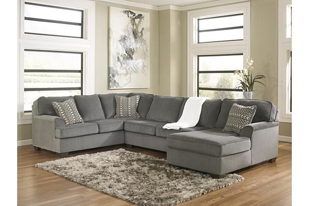 Ashley Furniture Opens This Fall. Replace Living Room Set With Sectional.