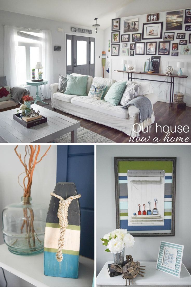 25 Spring home tours - DIY and craft ideas to decorate a home for the season, keeping the cost low and the inspiration high. 25 Spring home tours from talented bloggers with a decorating style for everyone!
