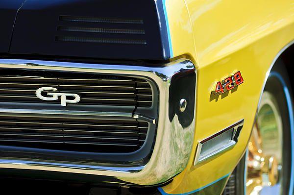 20d1b5927 1967 Pontiac Hurst Grand Prix Convertible Grille Emblem - Car Photographs  by Jill Reger