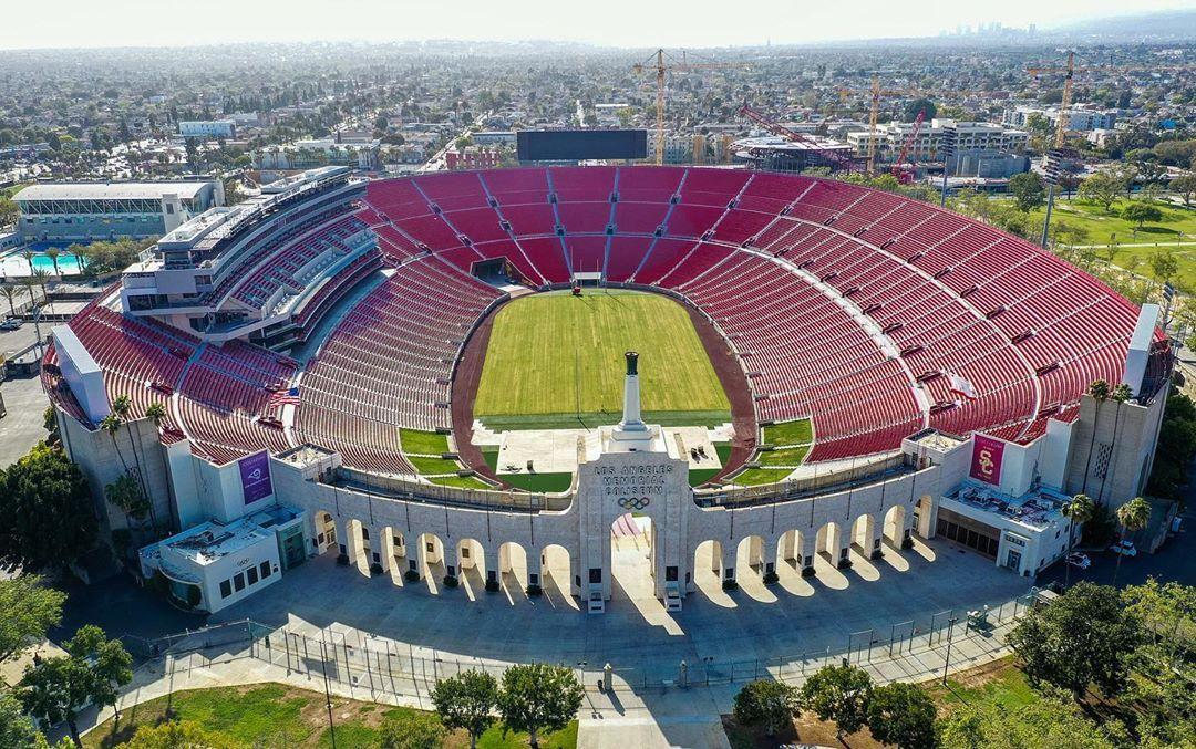 Josh Fuhrman On Instagram Los Angeles Memorial Coliseum The Los Angeles Memorial Coliseum Is An American Outdoor Sports Mu In 2020 Outdoor Los Angeles Outdoor Sports
