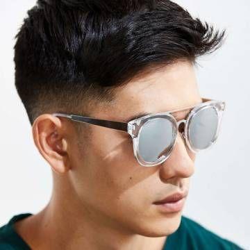 b743bb1b9a139 BROOKLYN Clear Silver Mirror. BROOKLYN Clear Silver Mirror Crazy Sunglasses
