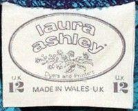 Vintage Fashion Guild Label Resource Ashley Laura Laura Ashley Vintage Dress Laura Ashley
