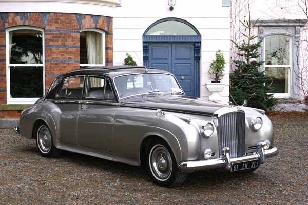 Vintage Wedding Car Dream Come True To Roll Out In Style After The