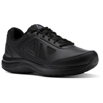 reebok shoes men's walk ultra 6 dmx max 4e in black/alloy