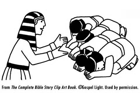 coloring pages for free. Joseph Forgives His Brothers