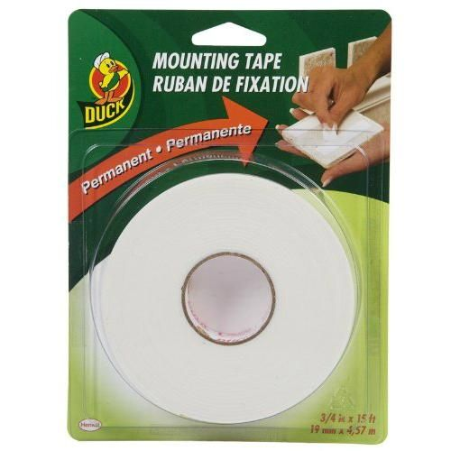 Duck 394666 Permanent Foam Mounting Tape Double Sided 1 X 15