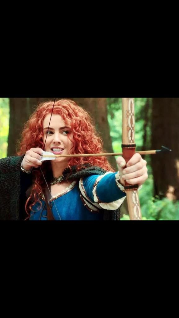 Amy Manson - Merida - ONCE UPON A TIME