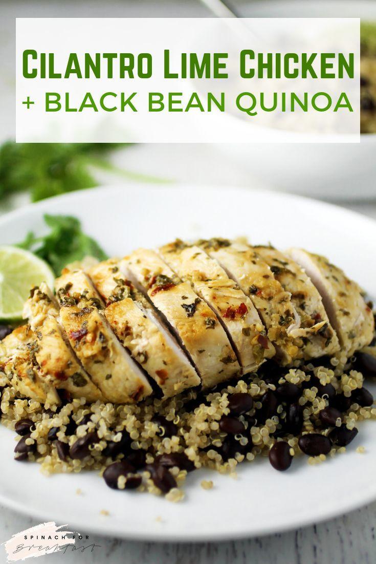 Cilantro Lime Chicken and Black Bean Quinoa images