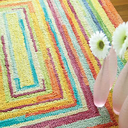 Wonderful Concentric Squares Rug And Nursery Necessities In Interior Design Guide :  All Childrens Rugs At PoshTots