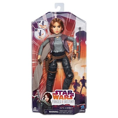 Star Wars Episode 8 The Last Jedi Action Figure Jyn Erso boys girls toys Disney