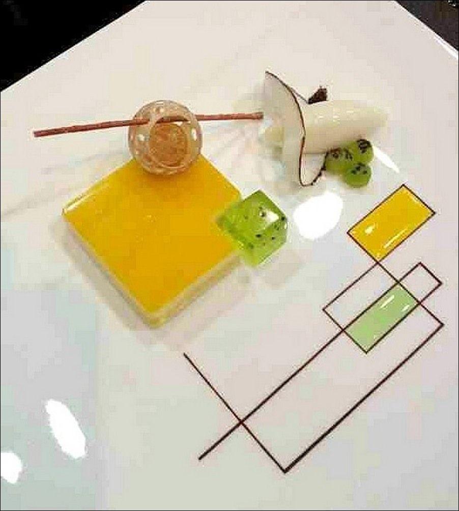 visions gourmandes apprenons lart de dresser de belles assiettes nos invits - Dressage De Table A La Francaise