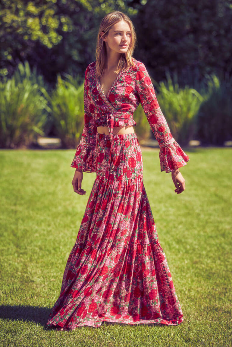 Discover Dramatic Details In This Collection From Alexis Boho Dresses Long Maxi Dresses Fall Boho Fashion [ 1151 x 770 Pixel ]