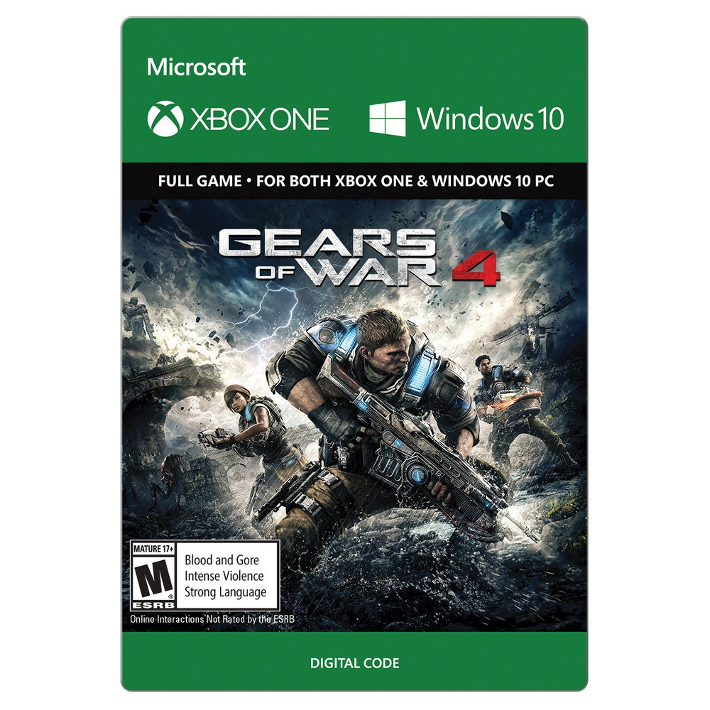 Gears of War 4 Xbox One (Digital) (With images) Gears