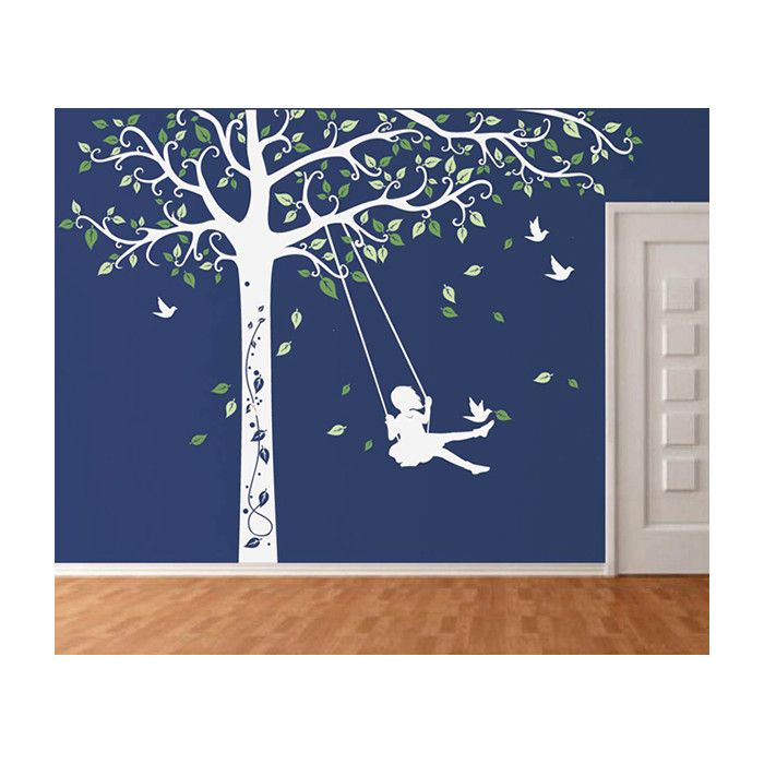 Look what I found on Wayfair! Kids wall decals, Tree