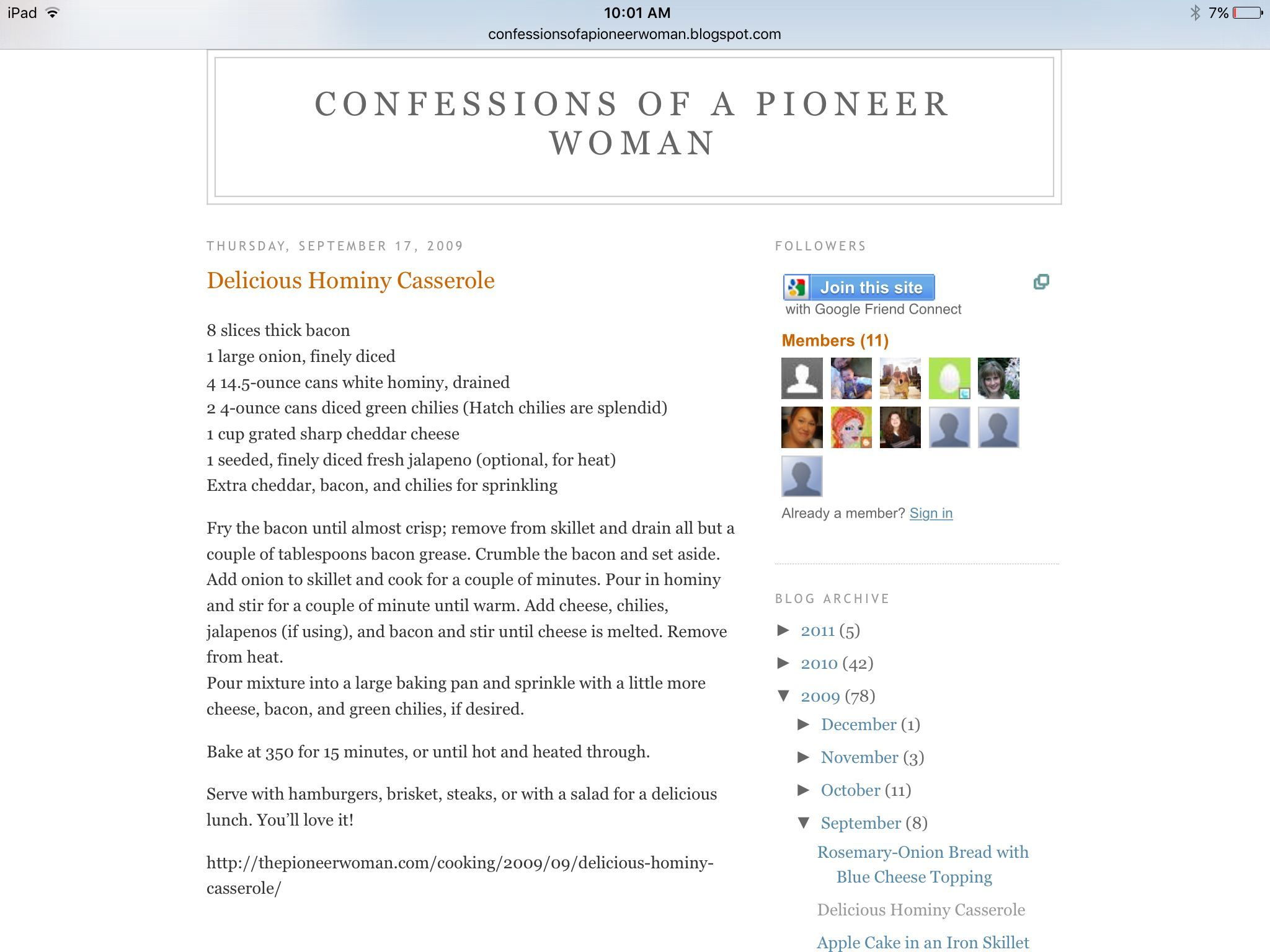 Pioneer Woman Hominy Casserole #hominycasserolepioneerwoman Pioneer Woman Hominy Casserole #hominycasserolepioneerwoman