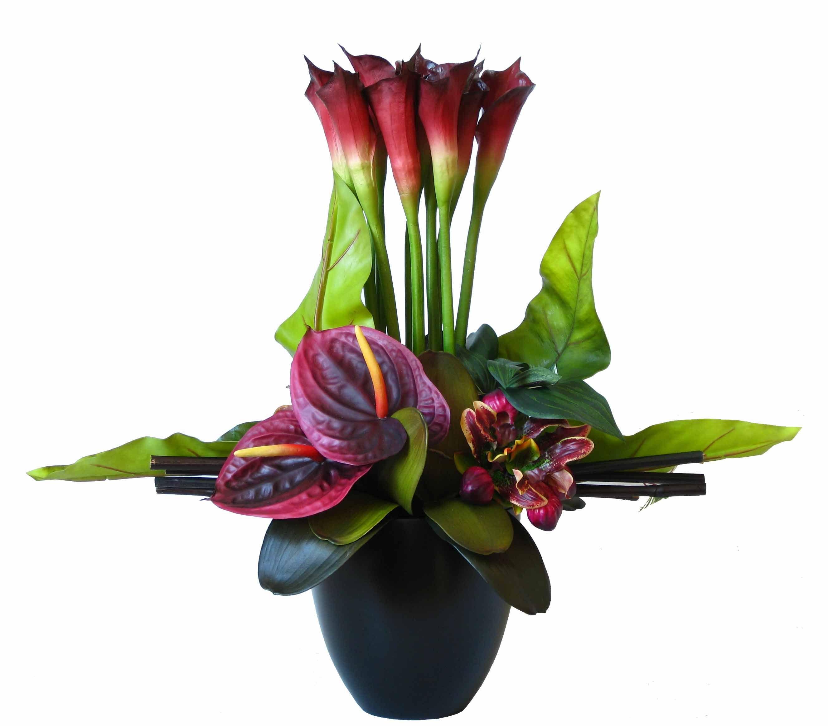 Silk Calla Lilies Images Flowers Pinterest Artificial Flowers