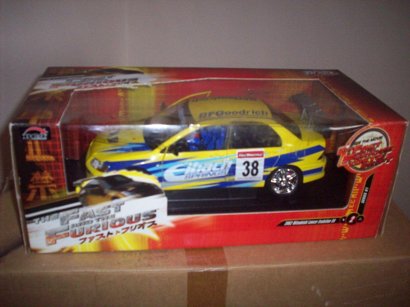 1:18 Fast and Furious Tokyo Drift Mitsubishi Evo VII Series 01 No2 | eBay