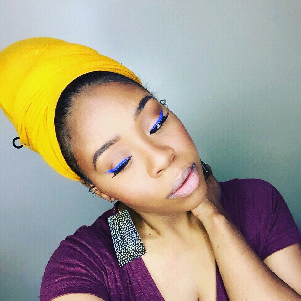 Eyeliner is Life!! Blue Wing Liner using Makeup Forever Bridal ...