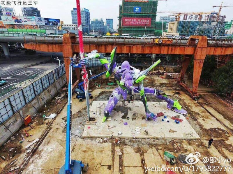The Tallest Evangelion Statue In The World in 2020