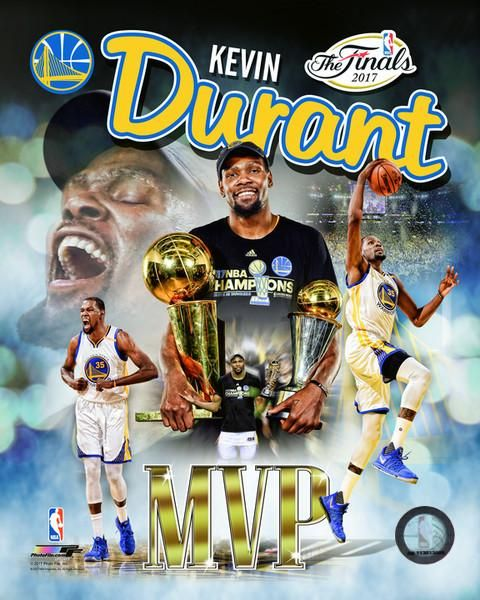 Kevin Durant Golden State Warriors 2017 NBA Finals MVP