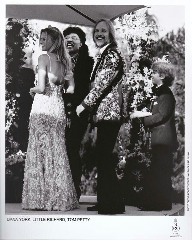 Tom And Dana With Little Richard With Images Petty Tom Petty