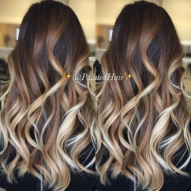 Image result for dramatic brunette blonde balayage beauty image result for dramatic brunette blonde balayage pmusecretfo Choice Image
