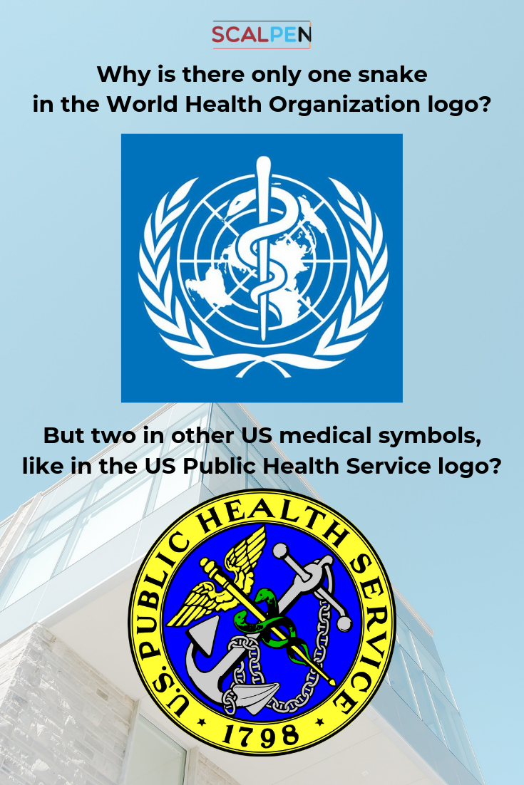 A lot of American health institutions use the caduceus in