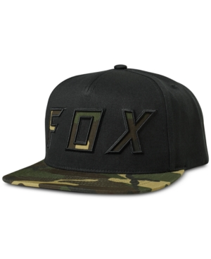 entire collection on feet shots of speical offer Fox Men's Possessed Camo Snapback Hat - Navy/Red   Snapback hats ...