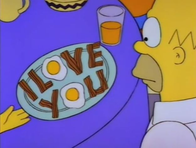 """27 Things """"The Simpsons"""" Taught Us About Love 