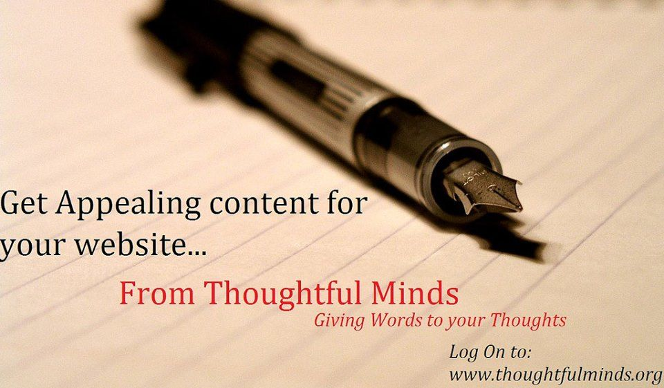 008 Thoughtful Minds the leading content writing agency in
