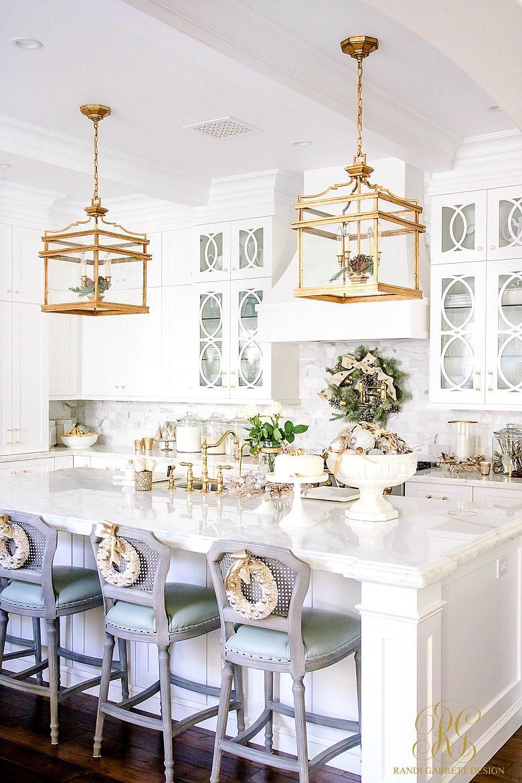 Christmas Home Tour Featuring Kitchen Remodel Small White Kitchen Design Interior Design Kitchen