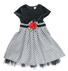 4T / Black and checkered dress / Robe noir et carottée   Changeroo.ca