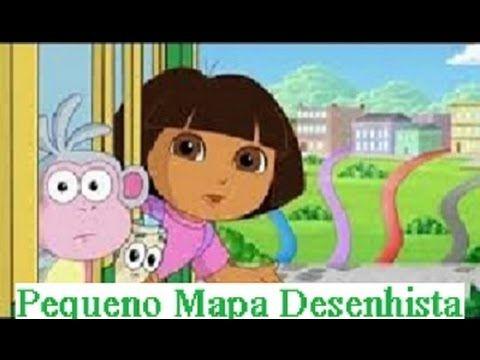 Dora Aventureira Em Portugues O Pequeno Mapa De Desenho