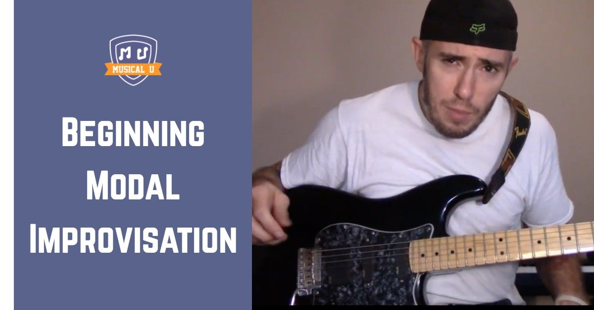 Dorian improvisation guitar