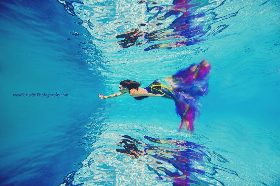 Senior Photos Underwater Styled Mountsi