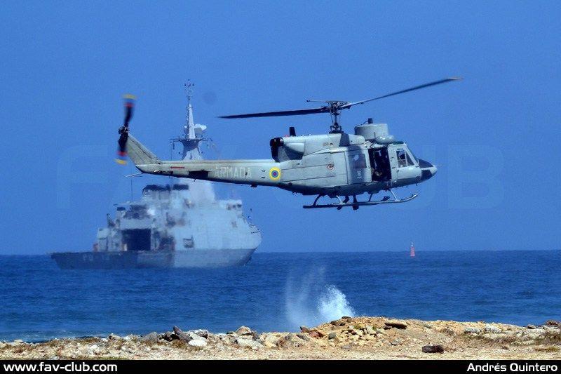 Helicóptero Agusta/Bell AB-212 ASW de la Aviación Naval