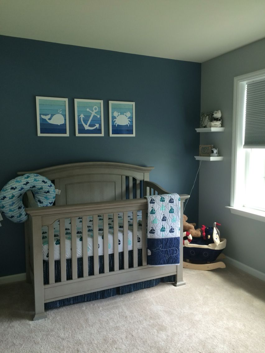 Nautical Nursery Crib Bedding From Bbb Photos Trm Designs Etsy